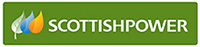 Scottish Power Logo : This link opens in a new window